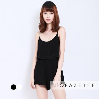 4dc748253c1c Qoo10 - TOPAZETTE -  TOPAZ  RESORT BOHO ROMPER   Women s Clothing