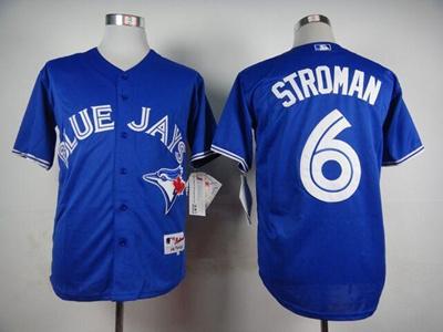 super popular 93c59 1adc2 Toronto Blue Jays Jerseys #6 Marcus Stroman Blue White Grey Jerseys  Wholesale Cheap Baseball Jerseys