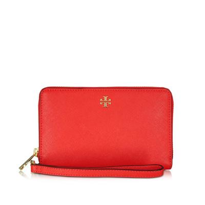 837c8f369cb Qoo10 - Tory Burch Robinson Smartphone Wristlet Wallet   Bag   Wallet