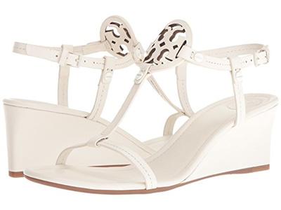 c6206c0aa84d Qoo10 - Tory Burch Miller 60mm Wedge Sandal   Shoes