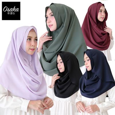 Qoo10 Tosca Hijab Instan Jilbab Instan Cornskin Premium Instant
