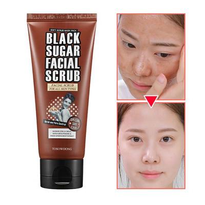 TOSOWOONG[Tosowoong] Renewal Black Sugar Facial Scrub 100g scrub and pore  control