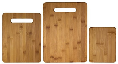 Qoo10 Totally Bamboo 3 Piece Bamboo Cutting Board Set For Meat