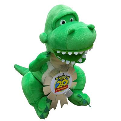 Qoo10 Toy Story 20th Anniversary Rex Plush Toys