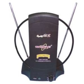 Toyosaki Antena Dalam TV UHF + VHF - TYS468W Hitam