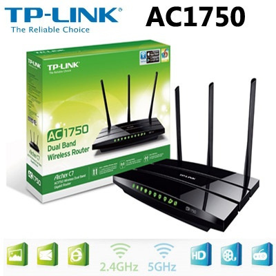 TP-LINK Archer C7 AC1750 Dual Band Wireless AC Gigabit Router 2 4GHz/5Ghz  450Mbps1350Mbps tplink Wifi Repeater USB Ports IPv6 Network