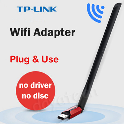 TP-Link Wifi Adapter / Wireless Receiver Sender / TL-WN726N For your  Desktop Computer rand Laptop