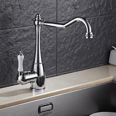 Qoo10 - Traditional Kitchen Swivel Spout Kitchen Sink Mixer Taps ...