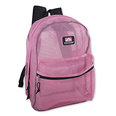 Trail maker Trailmaker Classic Mesh Backpack (17 Inch) with Reinforced  Straps
