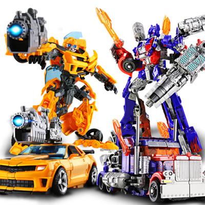 Qoo10 Transformers Bumblebee Optimus Prime Robot Car Toys
