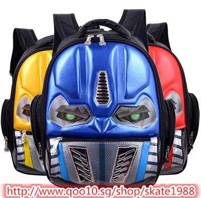 6d52ad79b12f Qoo10 - Transformers School Bag Children 4-8 Years Kids Backpack Book Bag  Wate...   Kids Fashion
