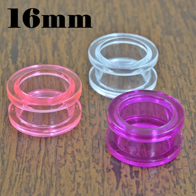 qoo10 translucent acrylic fresh tunnel 16 mm watch jewelry. Black Bedroom Furniture Sets. Home Design Ideas