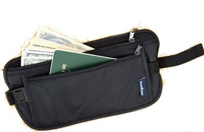 87b5390d8377 Travel Waist Pouch Security Bum Bag Belt Hidden Pouch Money Passport Pouch  Travel Safe