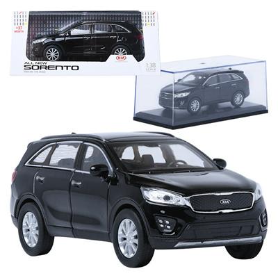 Qoo10 Treforze 1 38 Kia All New Sorento Black Display Mini Car