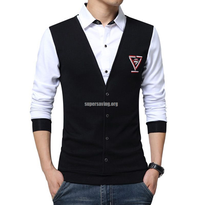 c8f89ccb38 Qoo10 - Trend False Two Fa   Men s Clothing