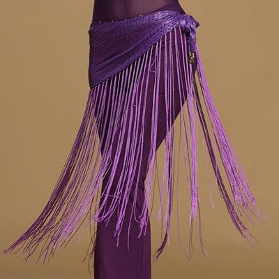 ed89d898bd Qoo10 - Triangle Belly Dance Costume Tribal Tassel Hip Scarf Wrap Belt Skirt  F... : Women's Clothing