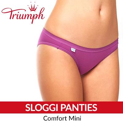 sloggi Comfort Mini Panties   Triumph   Panties   Woman Wear b86072b3f030