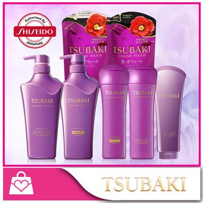 Qoo10 - [Tsubaki] Volume Touch Shampoo/ Conditioner