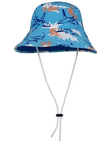 93f30ec4e29 Qoo10 - Tuga Boys Bucket Hat (UPF 50+)   Fuego   Medium B01BLVSHMO   Kids  Fashion