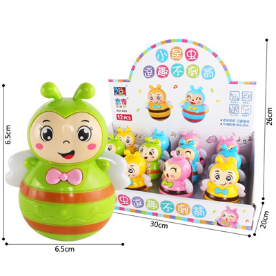 Tumbler toy called MOM and dad singing baby Apple educational children s  toys, baby toys, 0-1