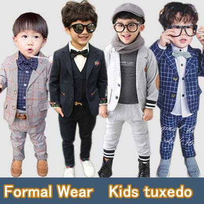 Qoo10 Tuxedosuit Smart Wearkids Tuxedoformal Wearkids Formal