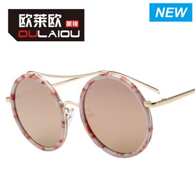 94817e1eae71 Qoo10 - TV 2015 New Fashion Women Round UV400 sunglass Men Metal Frame  Sunglas... : Fashion Accessor.