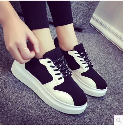 e343359beda Qoo10 - Tv shoe Spring spell color platform shoes shoes sneakers Korean  tidal ...   Shoes