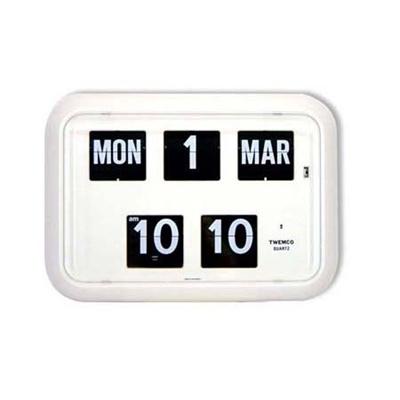 TWEMCOFlip Clock With Perpetual Calendar (QD-35 4 colours) Authentic Twemco