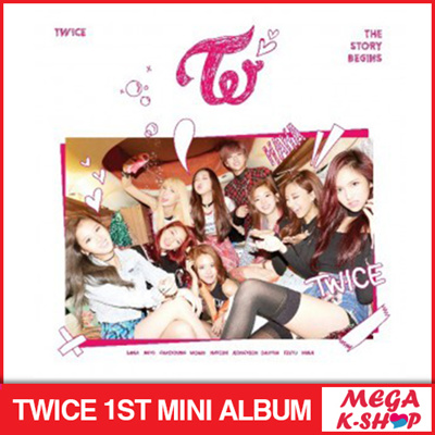 Qoo10 - TWICE - 1ST MINI ALBUM / THE STORY BEGINS [ UINIT CARD + RED