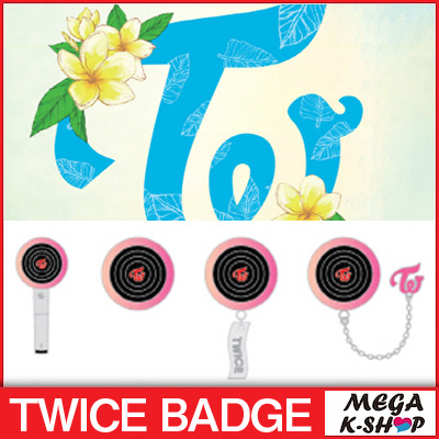 TWICE CANDYBONG Z BADGE / TWICE POPUP STORE [Twaiis Shop in SEOUL] Official  Goods [9  9  Release]