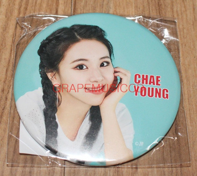 TWICE JAPAN 1st ALBUM BDZ OFFICIAL GOODS CHAEYOUNG CAN BATCH BADGE SEALED