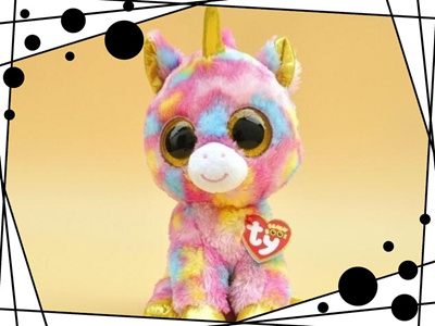 Qoo10 - Ty Beanie Boos Big Eyes Small Unicorn Plush Toy Doll Kawaii Stuffed  An...   Furniture   Deco 569549738d5