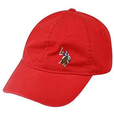 056ec58d6e1 Qoo10 - U.S. Polo Assn. Mens Washed Twill Baseball Cap