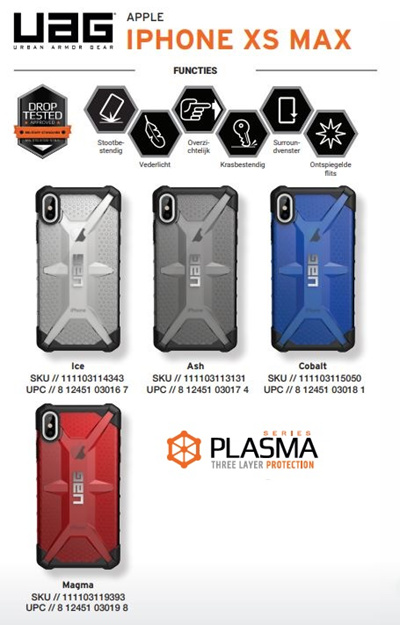 separation shoes 6bda1 f8bd0 UAG PLASMA SERIES IPHONE XS MAX / XR Cases