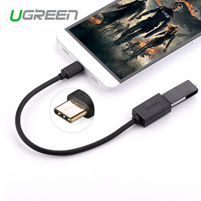 Ugreen USB Type C Adapter OTG Cable USB 2 0 to Female USB OTG Adapter for  Macbook Huawei P9 USB C