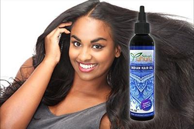 Uhuru Naturals Indian Hot Oil Treatment For Maximum Hair Growth With Bhringraj Amla