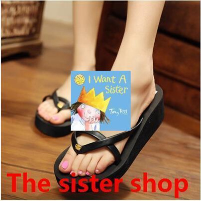 c1511cbde Qoo10 - Ultra-high-heel slippers slope with muffin with female high-heeled  pla...   Shoes