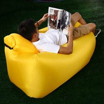 Miraculous Ultralight Inflatable Lazy Sofa With Pillow Beach Chair For Leisure Activities Pabps2019 Chair Design Images Pabps2019Com