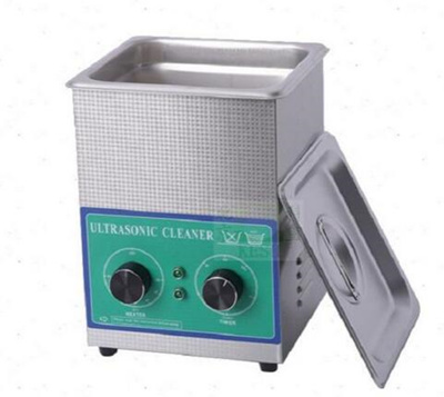 Ultrasonic cleaning machine parts cleaner glass jewelry PCB circuit board  2L with heated power 80W