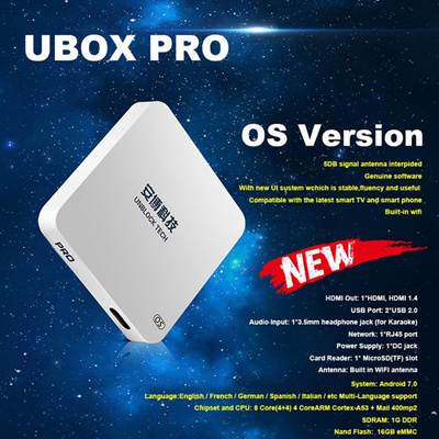 Qoo10 - UBOX4 Pro TW : TV & Entertainment