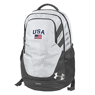 87e5a5c1b6 Qoo10 - (Under Armour) Under Armour-Hustle III-USA Backpack with American  Flag...   Bag   Wallet