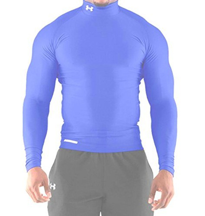 e2444188f55 Qoo10 - Under Armour Mens ColdGear Evo Long Sleeve Compression Mock ...