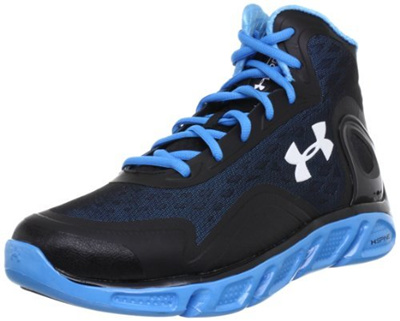 new arrival a52f2 68c68 Under Armour Mens UA Spine Bionic Basketball Shoes 9 Black
