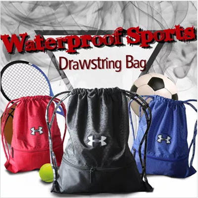 c99dbae5cf61 Qoo10 - UNDER ARMOUR Waterproof Drawstring Bag Backpack Sports Bag Shoe Bag Sh...    Men s Bags   Sho.