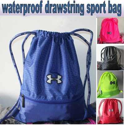 414a34222d48 Qoo10 - UNDER ARMOUR Waterproof Drawstring Bag Drawstring pouch premium  qualit...   Bags Shoes   Acc..