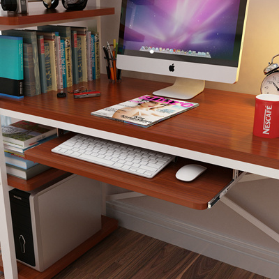 Elegant Wood Keyboard Tray Under Desk