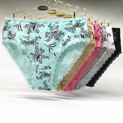 9071bb6d8c5 Underwear women plus size panties sexy lace small floral briefs cotton  comfortable cute ladies girl