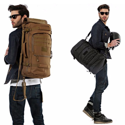 Unisex Army Travel Backpacking Bag/ Backpack/