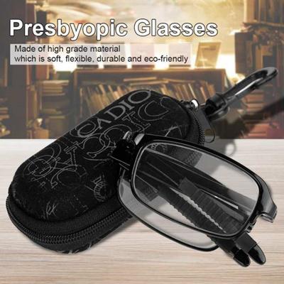 c6d38ee047d Qoo10 - Unisex Portable Lightweight Foldable Ultra Thin Black Reading  Presbyop...   Fashion Accessor.