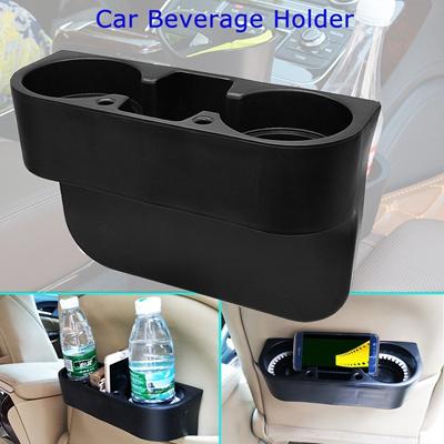 Universal Car Beverage Cup Holder Portable Vehicle Seat Gaps Organizer Shelving Bracket